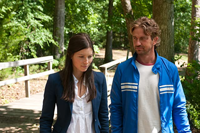 Jessica Biel and Gerard Butler in Playing for Keeps (2012)