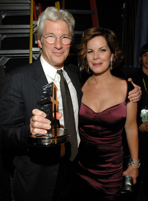 Richard Gere and Marcia Gay Harden