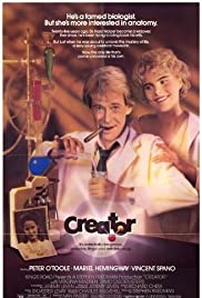 Creator (1985) Poster - Movie Forum, Cast, Reviews