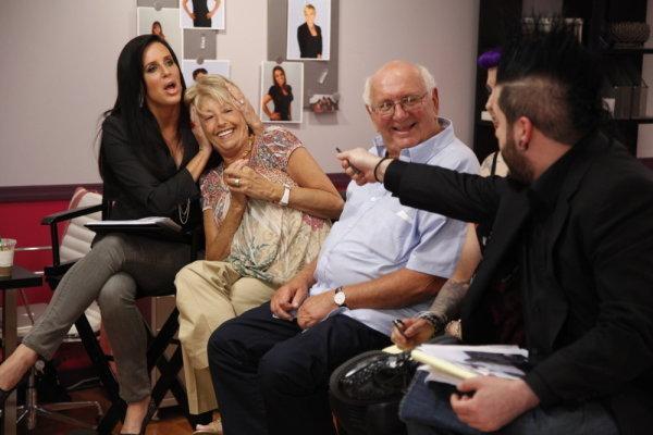 Patti Stanger and Destin Pfaff in The Millionaire Matchmaker (2008)