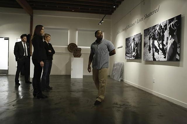 David Boreanaz, Emily Deschanel, and Kareem J. Grimes in Bones (2005)