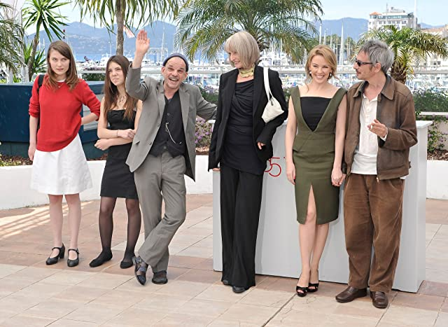 Kylie Minogue, Leos Carax, Denis Lavant, Edith Scob, Elise Lhomeau, and Jeanne Disson at an event for Holy Motors (2012)