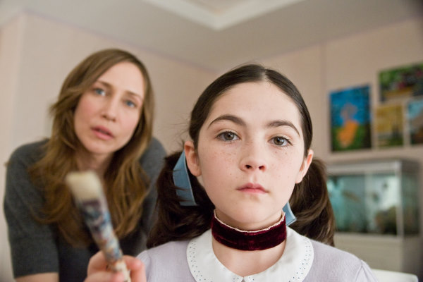 Vera Farmiga and Isabelle Fuhrman in Orphan (2009)