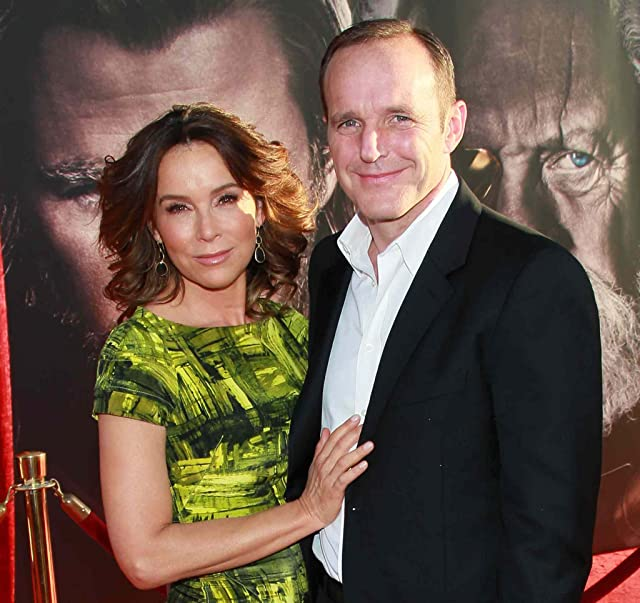Jennifer Grey and Clark Gregg at an event for Thor (2011)
