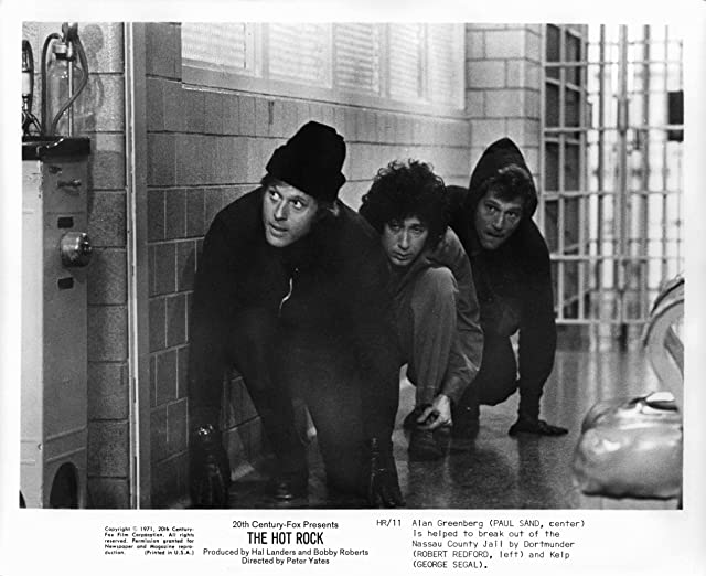 Robert Redford, George Segal, and Paul Sand in The Hot Rock (1972)