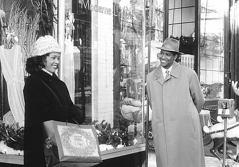 Denzel Washington and Whitney Houston in The Preacher's Wife (1996)