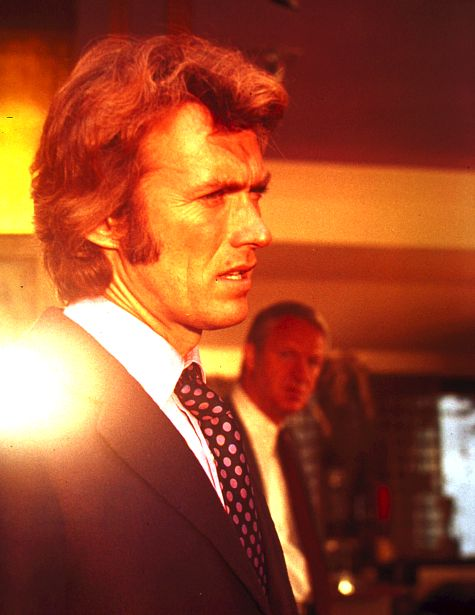 Clint Eastwood and John Larch in Play Misty for Me (1971)