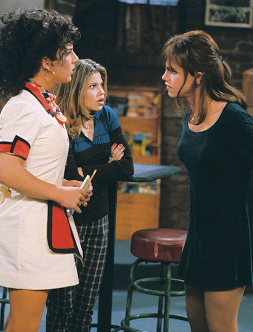 Danielle Fishel, Ben Savage, and Rider Strong in Boy Meets World (1993)