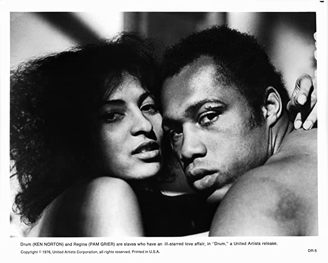 Pam Grier and Ken Norton at Drum (1976)