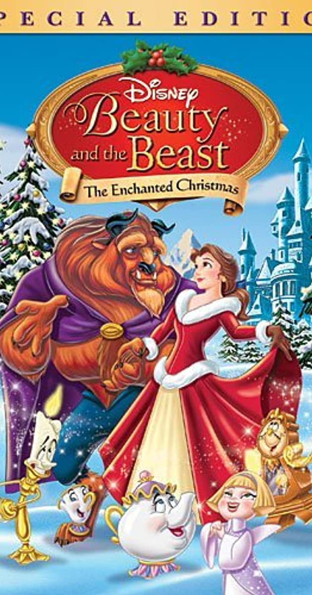 beauty and the beast the enchanted christmas video 1997