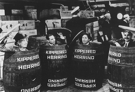 Groucho Marx, Chico Marx, Harpo Marx, and Zeppo Marx in Monkey Business (1931)