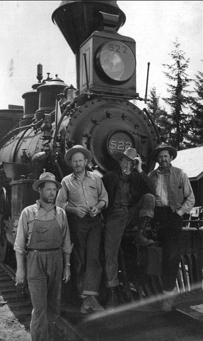 Left to Right - Al Taylor, Jack Rockwell, Tom London, & Slim Whitaker