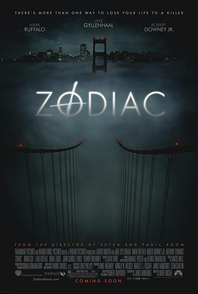 Zodiac Director Cut BluRay