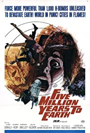Five Million Years to Earth Poster