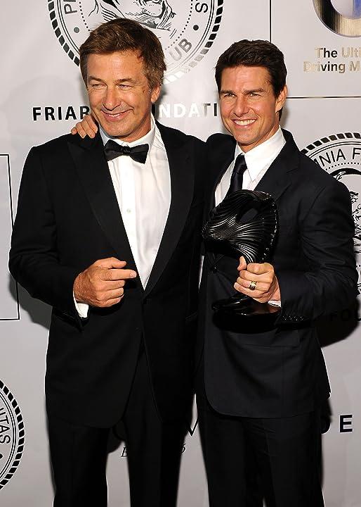 Tom Cruise and Alec Baldwin