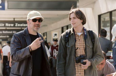 Ashton Kutcher and Nigel Cole in A Lot Like Love (2005)