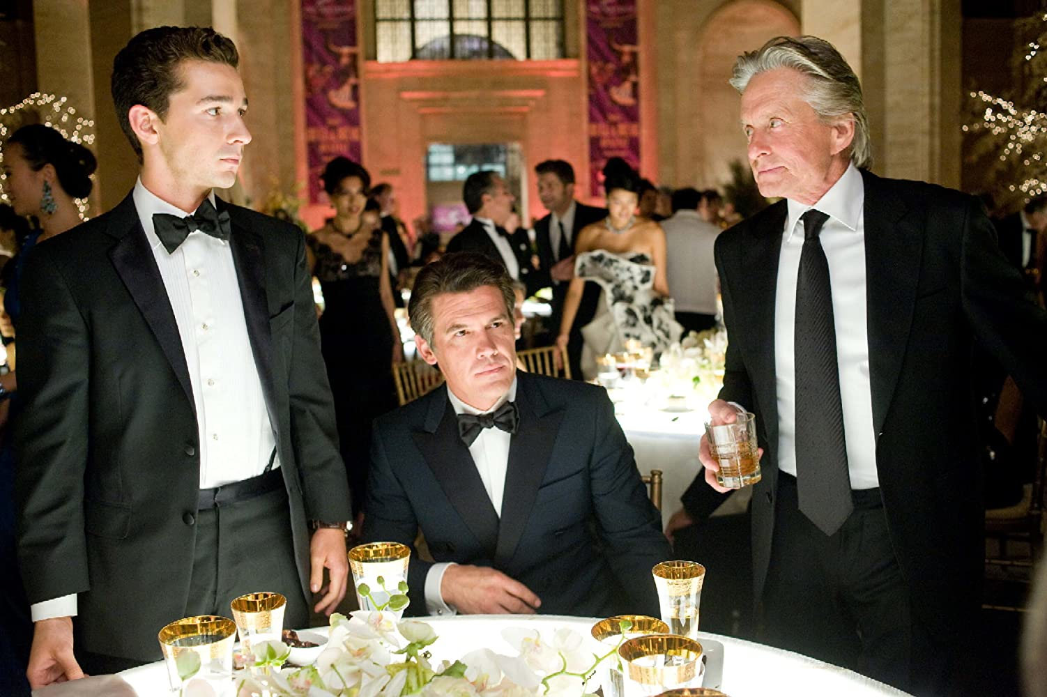 Michael Douglas, Josh Brolin, and Shia LaBeouf in Wall Street: Money Never Sleeps (2010)