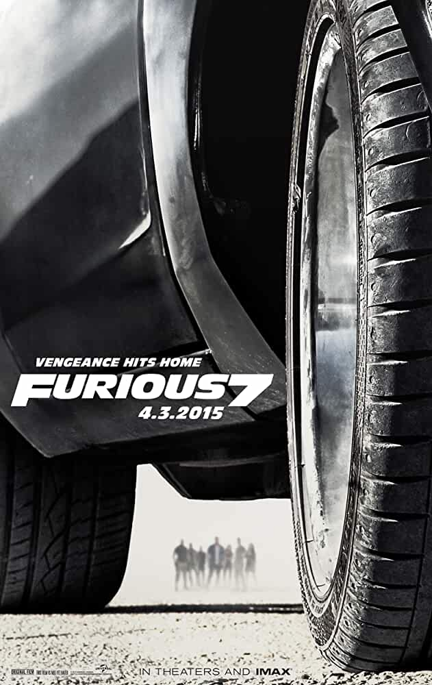 Poster Fast & Furious 7 2015 Full HD Movie Download Dual Audio Free 720p