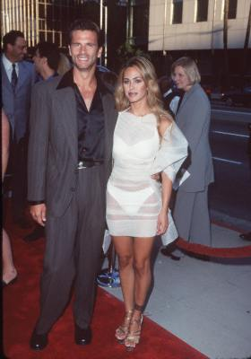 Lorenzo Lamas and Shauna Sand at an event for The Muse (1999)