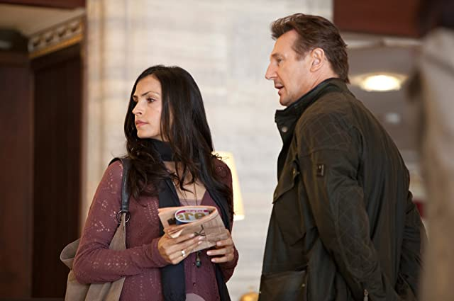 Famke Janssen and Liam Neeson in Taken 2 (2012)