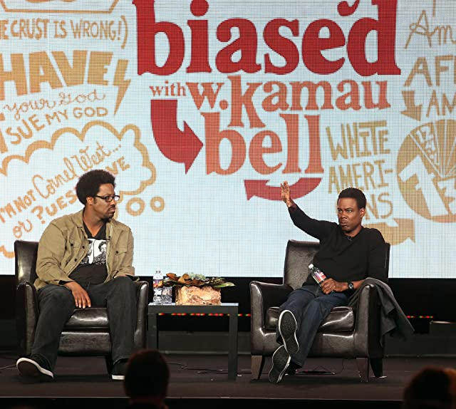 Chris Rock and W. Kamau Bell at an event for Totally Biased with W. Kamau Bell (2012)