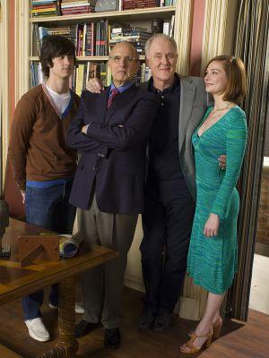 John Lithgow, Jeffrey Tambor, Heather Burns, and Jake Sandvig in Twenty Good Years (2006)