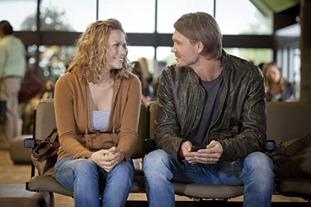 Bethany Joy Lenz and Chad Michael Murray in One Tree Hill (2003)