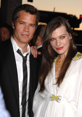 Milla Jovovich and Timothy Olyphant at A Perfect Getaway (2009)