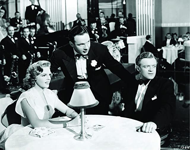 Judy Garland, Van Heflin, and Bob Crosby in Presenting Lily Mars (1943)