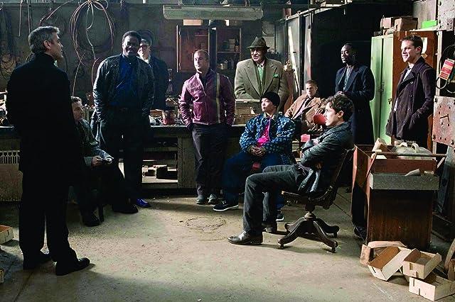 Brad Pitt, George Clooney, Don Cheadle, Matt Damon, Casey Affleck, Elliott Gould, Scott Caan, Bernie Mac, Carl Reiner, and Shaobo Qin in Ocean's Twelve (2004)