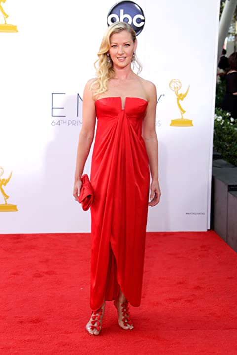 Gretchen Mol at The 64th Primetime Emmy Awards (2012)