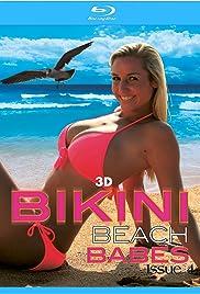 3D Bikini Beach Babes Issue #4 Poster