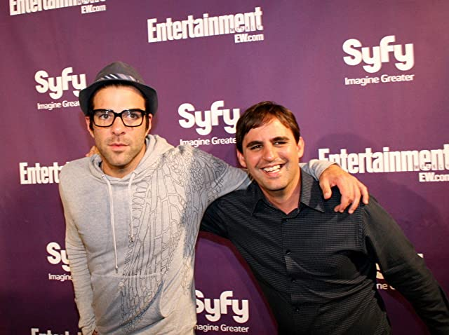 Roberto Orci and Zachary Quinto