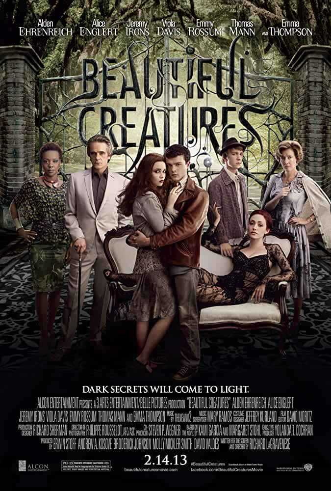 Poster Beautiful Creatures (2013) Full HD Movie Download Hindi Dubbed