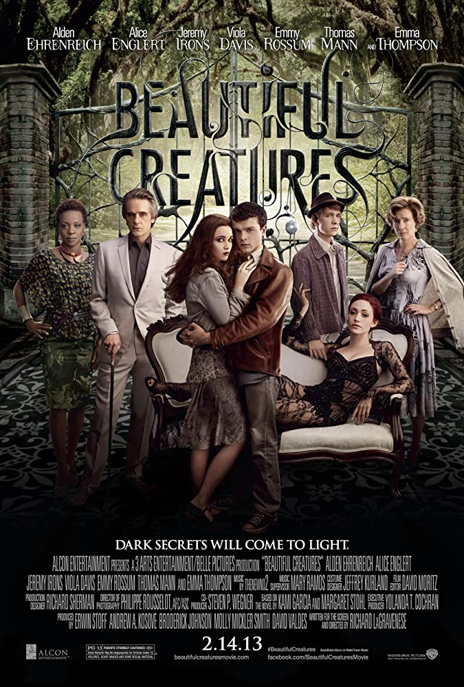 Beautiful Creatures 2013 Dual Audio Full Movie 330MB