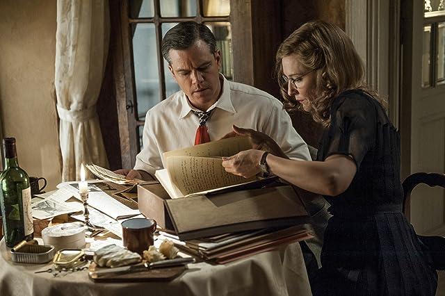 Matt Damon and Cate Blanchett in The Monuments Men (2014)