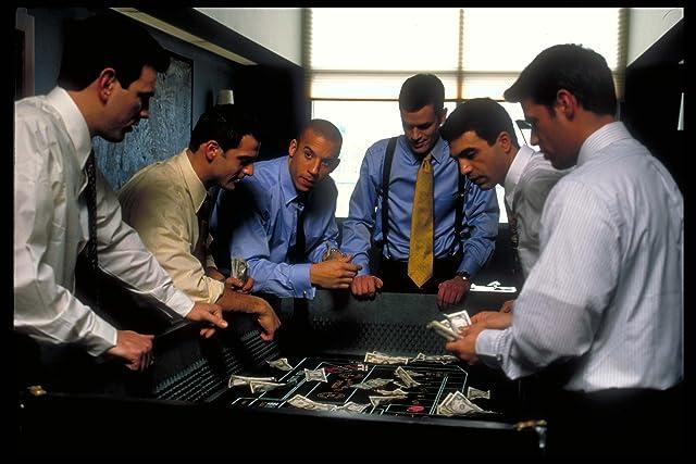 Vin Diesel, Nicky Katt, and Tom Everett Scott in Boiler Room (2000)