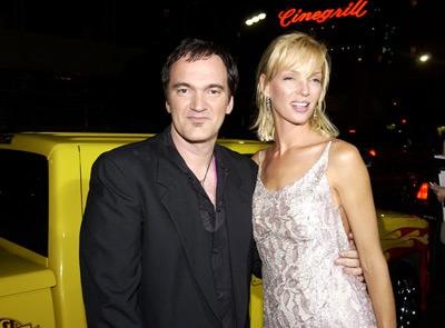 Quentin Tarantino and Uma Thurman at Kill Bill: Vol. 1 (2003)