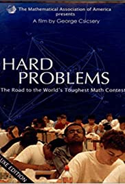 Hard Problems: The Road to the World's Toughest Math Contest Poster