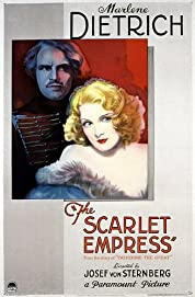 The Scarlet Empress poster