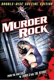 Murder-Rock: Dancing Death Poster