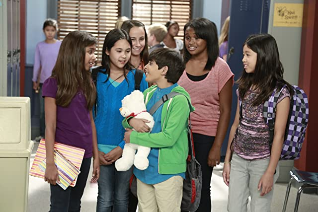 Kelly Gould and Karan Brar in Jessie: Make New Friends, But Hide the Old (2012)