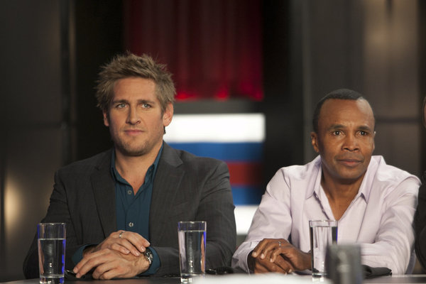 Sugar Ray Leonard and Curtis Stone in Top Chef Masters (2009)