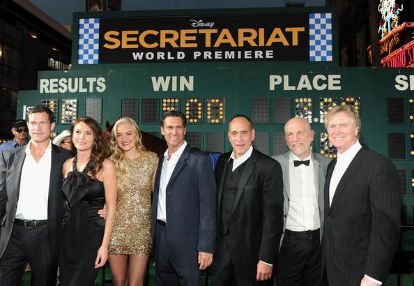 John Malkovich, Nestor Serrano, and Dylan Walsh in Secretariat (2010)
