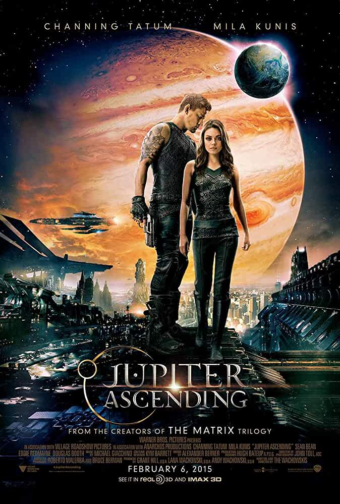 Poster Jupiter Ascending 2015 Full HD Movie Download 720p Free