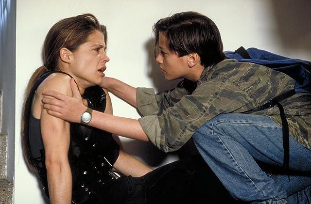 Linda Hamilton and Edward Furlong in Terminator 2: Judgment Day (1991)