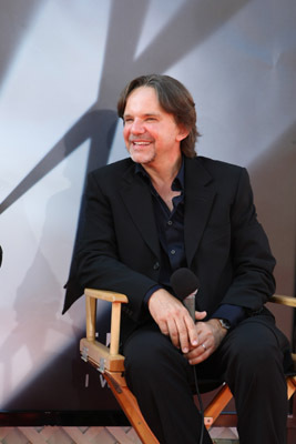 Frank Spotnitz at The X Files: I Want to Believe (2008)