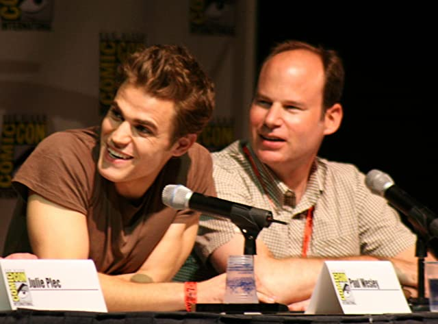 Paul Wesley and Bob Levy at The Vampire Diaries (2009)