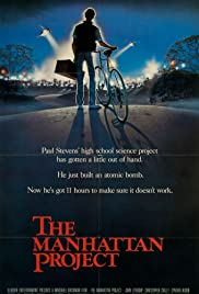 The Manhattan Project (1986) Poster - Movie Forum, Cast, Reviews