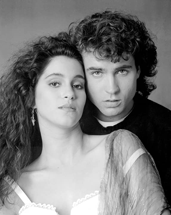 Jami Gertz and Jason Patric in The Lost Boys (1987)